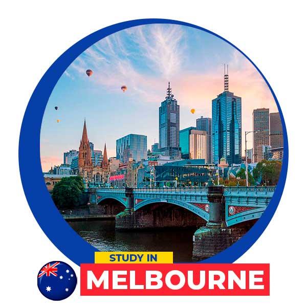 Estudia en Melbourne